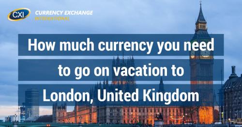 Vacation To London United Kingdom