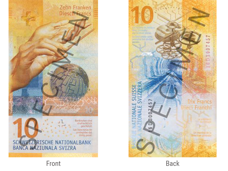 Franc Currency Released October 18