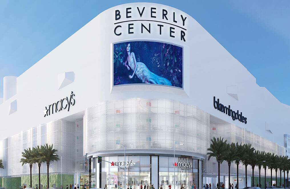 beverly center outside