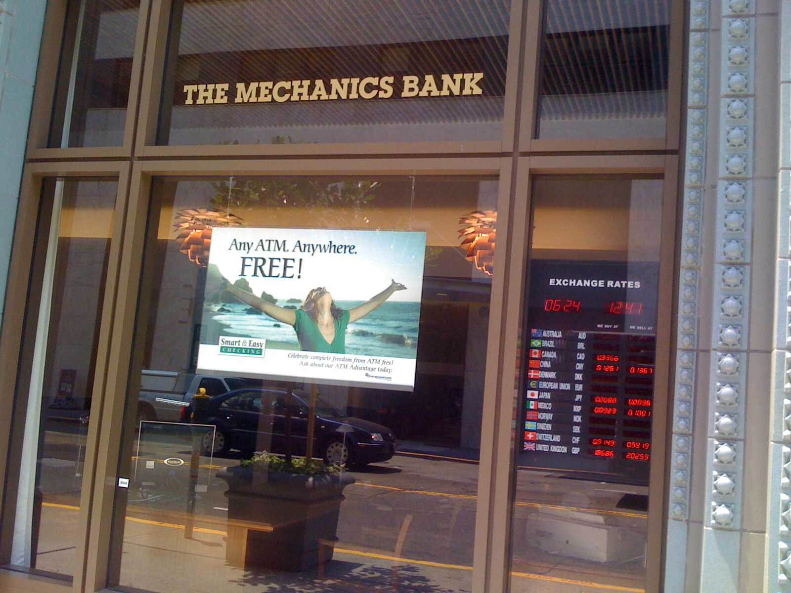 sf mechanics bank outside