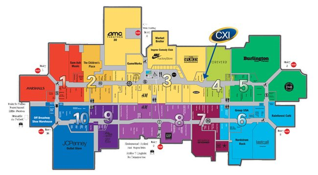 cxi ontario mills mall map