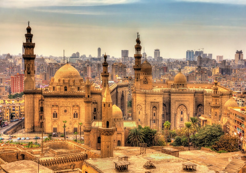 Mosques in Cairo, Egypt